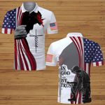 In God We Trust American Flag Veteran Jesus Christ ALL OVER PRINTED SHIRTS DH070102