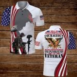 U.S Veterans I will be strong and courageous I will not be terrified or discouraged for the Lord, my God is with me wherever I go ALL OVER PRINTED SHIRTS hoodie 3d 0702669