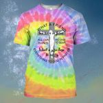 God What a friend we have in Jesus Tie Dye ALL OVER PRINTED SHIRT HH0702103