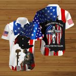 U.S Veterans Stand for the Flag Kneel for the Fallen ALL OVER PRINTED SHIRTS hoodie 3d 0703889
