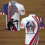 Stand for the Flag kneel for the Fallen Veteran US Flag Jesus Christian  ALL OVER PRINTED SHIRTS DH070302