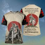 Hippie Be without fear Knight Templar Retro Vintage ALL OVER PRINTED SHIRT HH0707103
