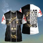 God I am the son of the kind Christian Jesus ALL OVER PRINTED SHIRT HH0708100