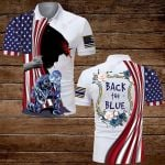 U.S. Police Officer Back the Blue ALL OVER PRINTED SHIRTS hoodie 3d 0709891