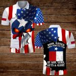 Texas Born Raised and protected by God G uns Guts and Glory ALL OVER PRINTED SHIRTS hoodie 3d 0707680