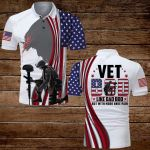 Vet Bod like Dad Bod but with more knee pain American Flag Jesus ALL OVER PRINTED SHIRTS DH071302