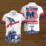 U.S. Veterans Being a Veteran is an Honor being a Grandpa is priceless ALL OVER PRINTED SHIRTS hoodie 3d 0713681
