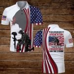 I am a Child of God a man of Faith a Soldier of Christ Veteran Jesus American Flag ALL OVER PRINTED SHIRTS DH071305