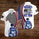 U.S. Police Officer Not all Heroes wear capes my Son wears a badge ALL OVER PRINTED SHIRTS hoodie 3d 0715667