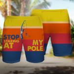 Fishing Stop Staring at my Poles combo Hawaii Pants ALL OVER PRINTED HH0716101