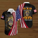 Being a Dad is an honor being a Papa is priceless ALL OVER PRINTED SHIRTS hoodie 3d 0718671