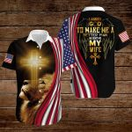 I asked God to make me a better man He sent me my Wife ALL OVER PRINTED SHIRTS hoodie 3d 0718668