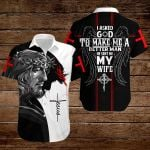 I asked God to make me a better man He sent me my Wife ALL OVER PRINTED SHIRTS hoodie 3d 0718667