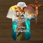 Jesus is my Savior not my religion ALL OVER PRINTED SHIRTS DH071802