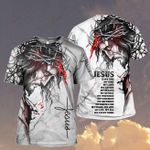 God Jesus is my Lord my King my Savior Tattoos ALL OVER PRINTED SHIRT H07200101