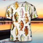 Fishing Colorful Fish School Fishing Lover  ALL OVER PRINTED SHIRT H07200102