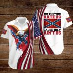 Confederate States of America Flag They hate us cause they ain't us ALL OVER PRINTED SHIRTS hoodie 3d 0722895