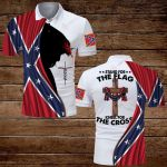 Confederate States of America Flag Stand for the flag kneel for the cross ALL OVER PRINTED SHIRTS hoodie 3d 0709889
