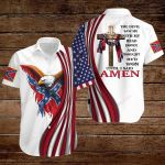 Confederate States of America Flag the Devil saw me with my head down and thought He'd won until i said Amen ALL OVER PRINTED SHIRTS hoodie 3d 0713669