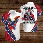 Confederate States of America Flag Careful Boy  I am old for good reason ALL OVER PRINTED SHIRTS hoodie 3d 0723889