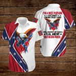 Confederate States of America Flag I'm a nice person but don't cross that line  ALL OVER PRINTED SHIRTS hoodie 3d 0723891