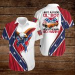 Confederate States of America Flag Just a good ol' boy never meanin' no harm ALL OVER PRINTED SHIRTS hoodie 3d 0723895