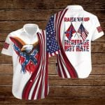 Raise 'Em up Heritage not hate Confederate states of America flag ALL OVER PRINTED SHIRTS DH072404