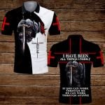 I have been all things unholy knight Jesus Christian  ALL OVER PRINTED SHIRTS DH072501
