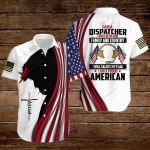 Thin gold line I am a Dispatcher I believe in God Family and Country I will salute my Flag I am a proud American ALL OVER PRINTED SHIRTS hoodie 3d 0725671