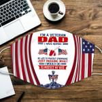 U.S. Veterans I'm a Veteran Dad ALL OVER PRINTED a1 3d 0722671