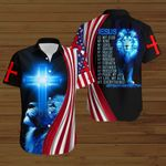 Jesus is my King my Lord my everything American Flag blue lion ALL OVER PRINTED SHIRTS DH072902