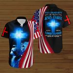 Way property of truth Jesus Christ American Flag blue lion ALL OVER PRINTED SHIRTS DH073103