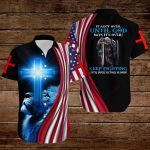 It ain't over until God says it's over keep fighting knight American Flag blue lion ALL OVER PRINTED SHIRTS DH080105