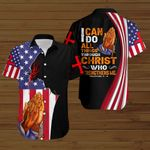 I can do all things through Christ who strengthens me American Flag Jesus prayer ALL OVER PRINTED SHIRTS DH080108