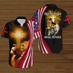 Biker This is how I social distance ALL OVER PRINTED SHIRTS hoodie 3d 0803670