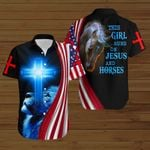 This girl runs on Jesus and Horses ALL OVER PRINTED SHIRTS hoodie 3d 0803671