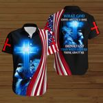 What God knows about me is more important than what others think about me American Flag blue lion ALL OVER PRINTED SHIRTS DH080602