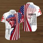 Jesus is my all my life my everything American Flag Jesus ALL OVER PRINTED SHIRTS DH080701