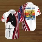 Jesus saved hockey American Flag vintage ALL OVER PRINTED SHIRTS DH080801