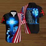 Jesus is my everything American Flag blue lion ALL OVER PRINTED SHIRTS DH081305