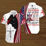 I am a Trucker Son of God ALL OVER PRINTED SHIRTS hoodie 3d 0814888
