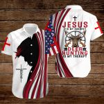 Jesus is my Savior Deer Hunting is my therapy ALL OVER PRINTED SHIRTS hoodie 3d 0814891
