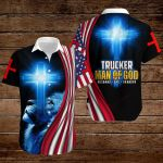Trucker Man of God Husband Dad Grandpa ALL OVER PRINTED SHIRTS hoodie 3d 0814895
