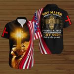 Way maker My God that is who you are American Flag yellow lion ALL OVER PRINTED SHIRTS DH081703