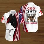 God first family then deer hunting ALL OVER PRINTED SHIRTS hoodie 3d 0821903