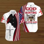 God is great hunting is good and people are crazy ALL OVER PRINTED SHIRTS hoodie 3d 0821902
