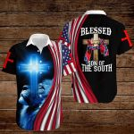 Confederate States of America Flag Blessed son of the South ALL OVER PRINTED SHIRTS hoodie 3d 0820911