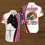 Jesus is my savior my Turtle is my therapy ALL OVER PRINTED SHIRTS hoodie 3d 0820674