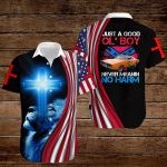 Confederate States of America Flag Just a good ol'boy Never Meanin No Harm ALL OVER PRINTED SHIRTS hoodie 3d 0820899