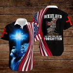 Confederate States of America Flag Dixieland old times these are not forgotten ALL OVER PRINTED SHIRTS hoodie 3d 0820903